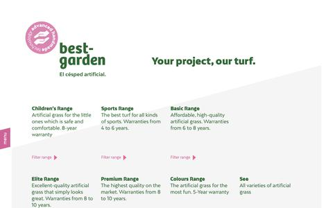 Screenshot of Products Page bestgarden.es - Best Garden Products | Best Garden - captured Dec. 9, 2018