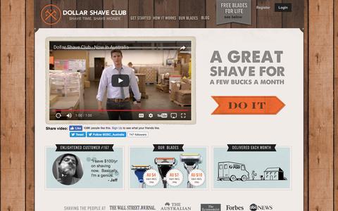 Dollar Shave Club - Australia