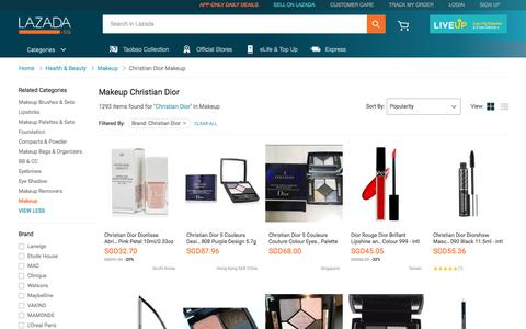 Latest Christian Dior Makeup Products | Enjoy Huge Discounts | Lazada SG