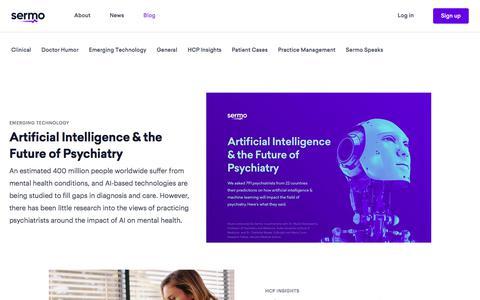 Screenshot of Blog sermo.com - Blog - Sermo - captured Aug. 29, 2019
