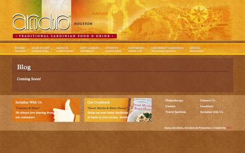 Screenshot of Press Page arcodoro.com - Blog - Arcodoro & Arcodoro Pomodoro - captured Oct. 4, 2014