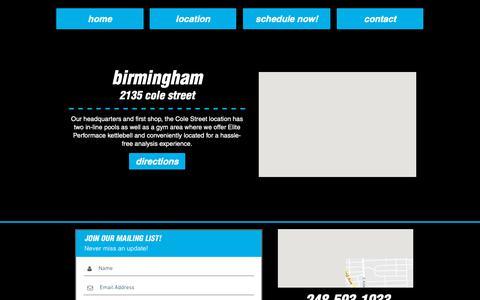 Screenshot of Locations Page tweakedathlete.com - tweak   locations - captured May 29, 2019