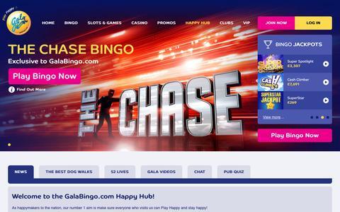 Screenshot of Press Page galabingo.com - Join Our Online Bingo Community   Gala Bingo - Gala Bingo - captured Nov. 27, 2016