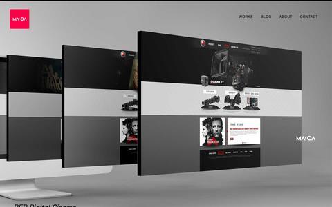 Screenshot of Home Page itsmaca.com - M Λ C Λ   Your Girl's Favorite Designer - captured Nov. 10, 2015