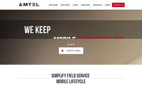 Screenshot of Team Page amtelnet.com - Mobile Security | Secure Communications | TEM | Amtel - captured Sept. 19, 2014