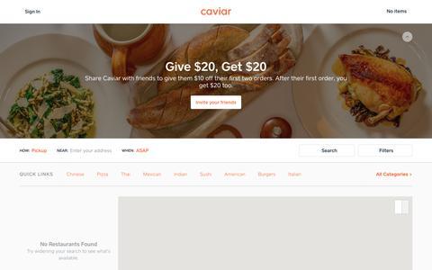 Food Delivery - San Diego Restaurants | Caviar