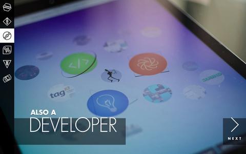 Screenshot of Developers Page stefansoc.com - Stefan Soc: Artist, Developer, Producer - captured Feb. 16, 2016