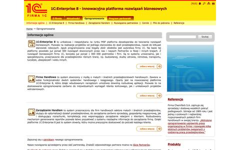 Screenshot of Products Page 1c.pl - Informacje ogólne - captured Oct. 27, 2014