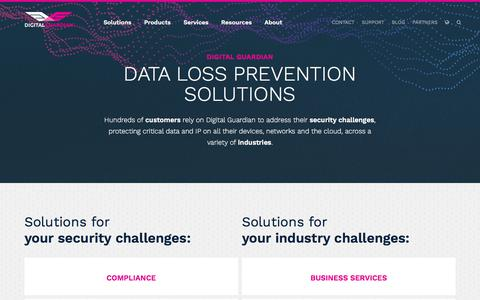 Solutions | Digital Guardian