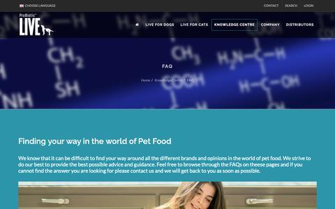 Screenshot of FAQ Page bacterfield.com - Bacterfield - FAQ - captured Dec. 9, 2018