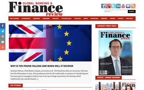 Global Banking And Finance Review Magazine – Financial & Business Insights