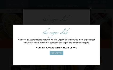 Buy Cigars, Humidors & Accessories Online | The Cigar Club