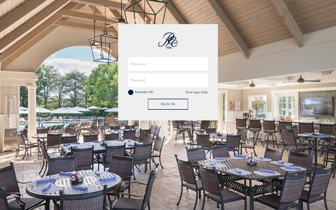 Screenshot of Login Page preaknesshills.org - Member Login - Preakness Hills Country Club - captured Sept. 28, 2018