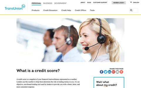 Screenshot of Support Page transunion.com - Customer Support | TransUnion - captured Oct. 24, 2018