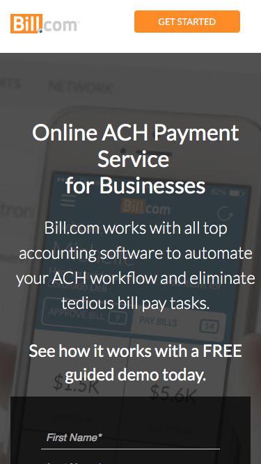 Cut Time Spent on Bill Pay in Half - Bill.com