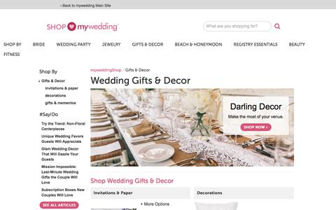Specials on Wedding Gifts & Decor