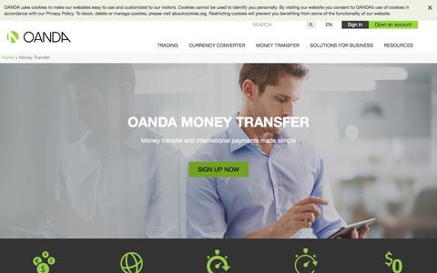 Money Transfer | OANDA