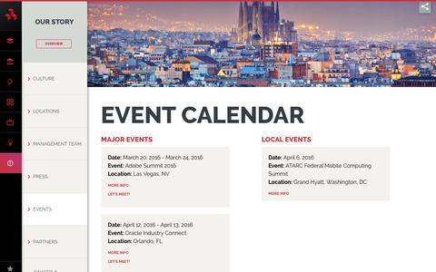 Event Calendar - DMI