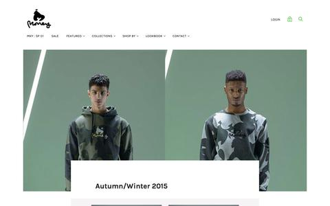 Money Clothing Autumn/Winter 2015 — MONEY