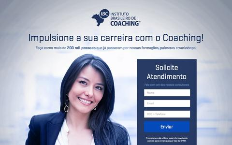 Screenshot of Landing Page ibccoaching.com.br - IBC Coaching - Impulsione a sua carreira com o Coaching! - captured Oct. 27, 2014