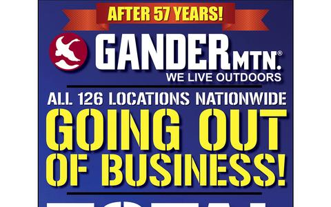 Screenshot of Home Page gandermountain.com - Gander Mtn – We Live Outdoors - captured May 8, 2017