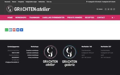 Screenshot of FAQ Page grachtenatelier.nl - FAQ - GrachtenAtelier - captured Dec. 7, 2018