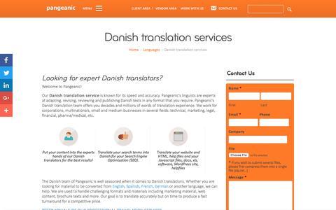 Danish translation services - Pangeanic Translations