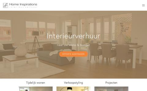 Screenshot of Home Page home-inspirations.nl - Home Inspirations - captured Dec. 10, 2015