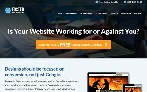 Promotion: Legal Website Design Consultation | Foster Web Marketing