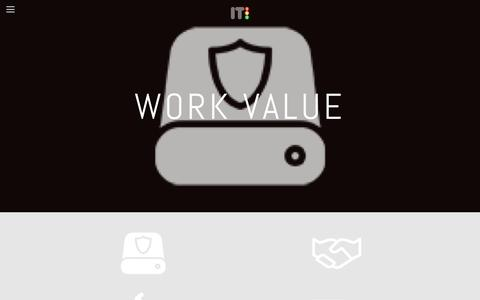 Screenshot of Team Page it101.be - Work Value —  IT101 - captured Feb. 4, 2016