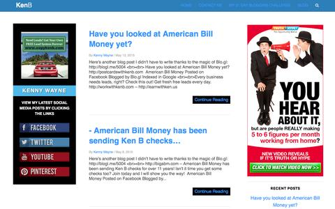 Make Extra Money With Ken B, American Bill Money and Empower Network