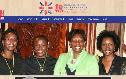 Screenshot of Blog fewa.or.ke - Blog - FEWA - captured Oct. 5, 2014