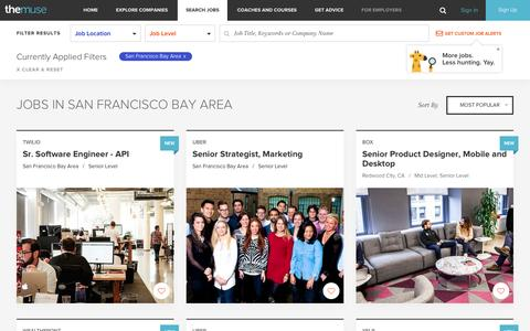 Search  Jobs  in San Francisco Bay Area | The Muse