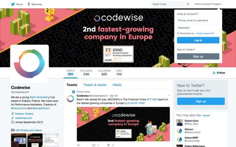 Codewise (@codewisecom)   Twitter