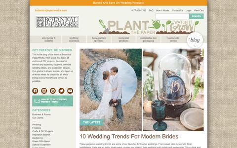 Screenshot of Blog botanicalpaperworks.com - Blog | Botanical PaperWorks - captured Sept. 30, 2018