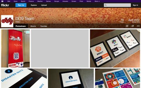 Screenshot of Flickr Page flickr.com - Flickr: DD9inc's Photostream - captured Oct. 23, 2014