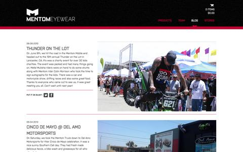 Screenshot of Blog mentom.com - Blog - mentom.com - captured Oct. 4, 2014