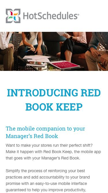 Introducing Red Book Keep