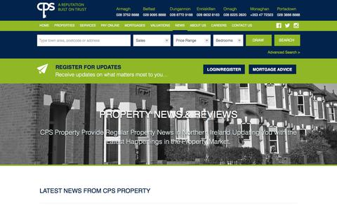 Screenshot of Press Page cps-property.com - CPS Property News And Reviews :: CPS Property - captured Sept. 25, 2018