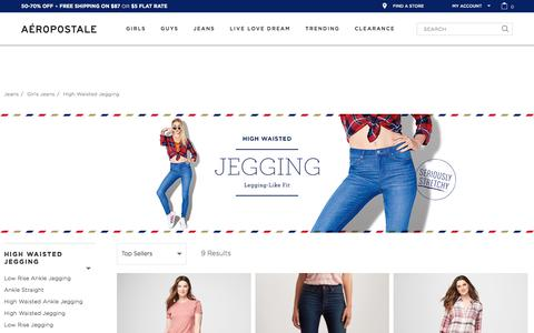 High Waisted Jeggings - Shop Jeggings | Aeropostale