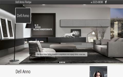 Screenshot of Home Page dellannofloripa.com.br - Dell Anno Floripa - captured June 17, 2015