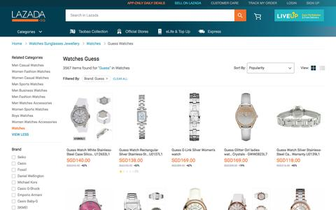 Latest Guess Watches Products | Enjoy Huge Discounts | Lazada SG