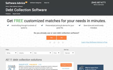 Best Debt Collection Software - 2017 Reviews & Pricing
