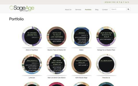 Screenshot of sageagestrategies.com - Portfolio | Sage Age Strategies - captured June 23, 2017