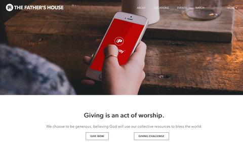 Give | The Father's House