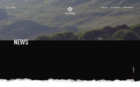Screenshot of Press Page pyb.co.uk - Latest News & Information   Plas y Brenin - captured Sept. 28, 2018