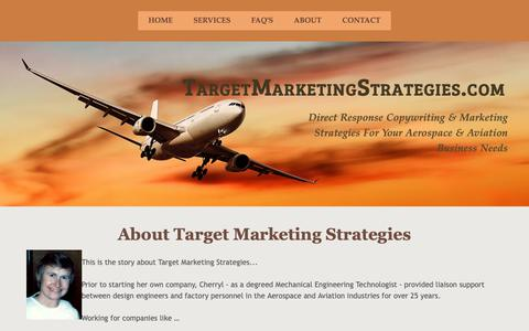 Screenshot of About Page targetmarketingstrategies.com - About Target Marketing Strategies - captured Oct. 18, 2018