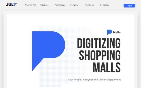 Shopping Mall Analytics & Footfall Insights for Shopping Centers