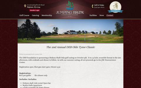 Screenshot of Blog jumpingbrookcc.com - Blog | Jumping Brook Country Club - Neptune, NJ - captured Oct. 6, 2014