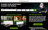 Old Screenshot Apartments.com Home Page